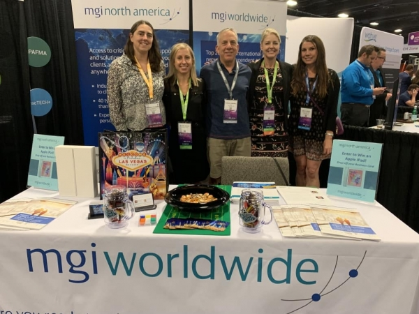 RINA Members with MGI Worldwide and MGI North America members at AICPA Engage.