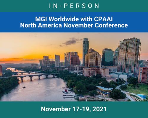 MGI-CPAAI North America November Conference