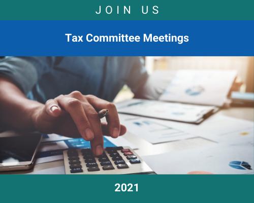 Tax Committee Meetings